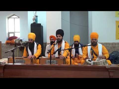 Shabad : Jinke Chola Ratre Payare. (Bhai Yadvinder Singh Ji PMKC Moga)