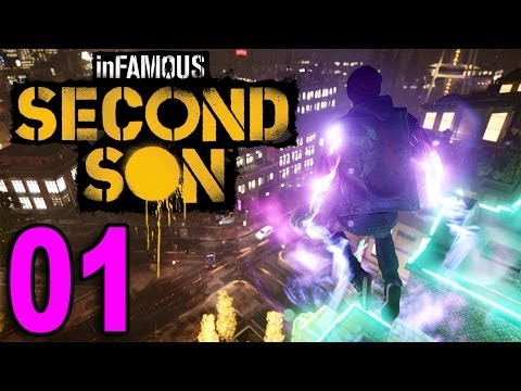 inFamous 3: Second Son - Part 1 - Welcome! (Playstation 4 PS4 Gameplay Walkthrough Let's Play)