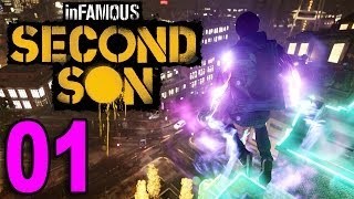 inFamous 3: Second Son - Part 1 - Welcome! (Playstation 4 PS4 Gameplay Walkthrough Let
