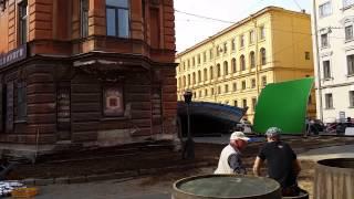 """Съёмки фильма """"Дуэлянт"""""""