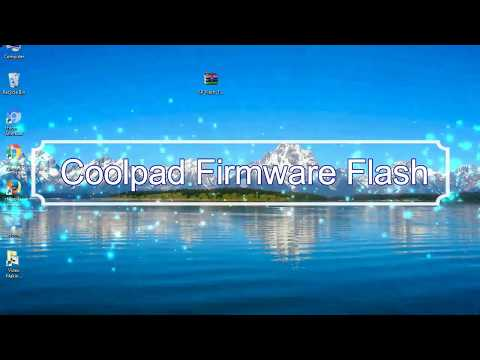 How to Flashing Coolpad firmware (Stock ROM) using