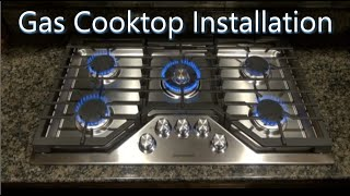 Gas Cooktop Installation   Useful Knowledge
