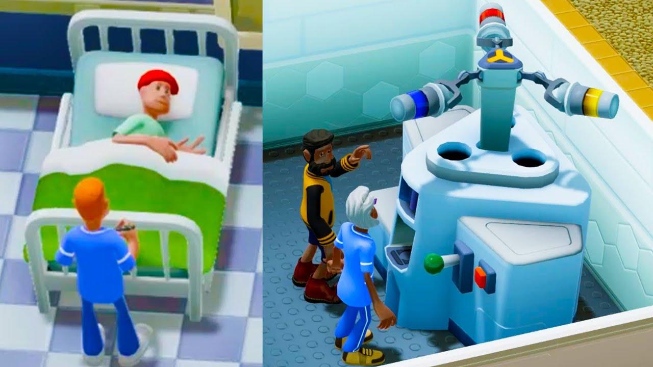 Health Inspector Visit !  Medical Hospital Builder Game Part 3