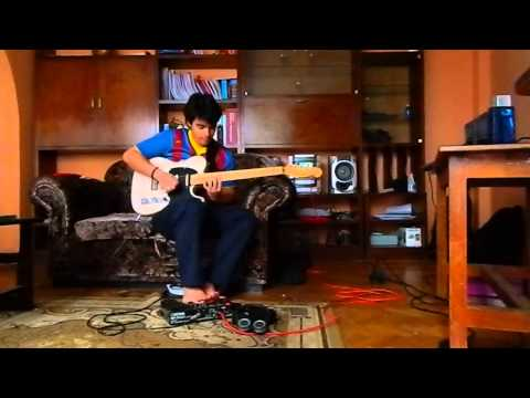 Guitarra Benson Nemesis Telecaster DLX no Loop da BOSS ME-25. by João Marcos