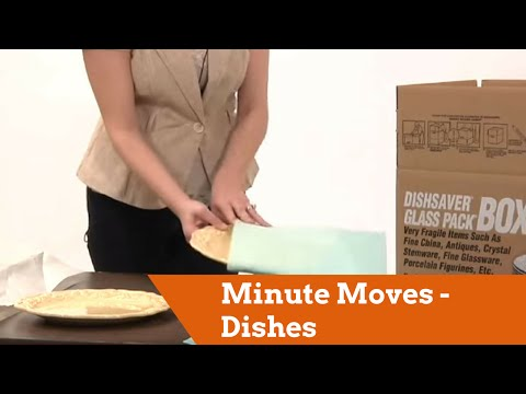Minute Moves - Dishes