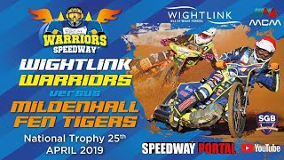 Isle of Wight 'Wightlink Warriors' vs Mildenhall 'Fen Tigers' : National Trophy : 25/04/2019