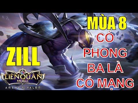 Liên quân mobile: ZILL mùa 8 đi mid hủy diệt team bạn | Arena of Valor