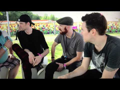 The Script interview pinkpop 2015