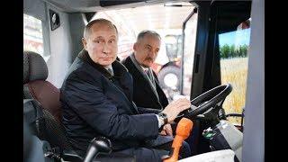 Ростсельмаш. Путин: Если что, после 18 марта пойду работать комбайнером