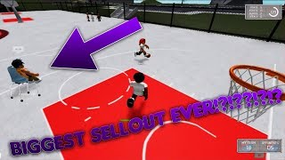 THE BIGGEST SELLOUT AT THE PARK EVER - RB World 2 ROBLOX
