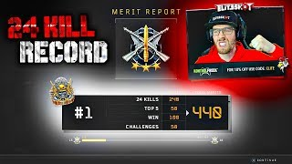 24 KILL BLACKOUT RECORD! 🏆 BEST SOLO QUAD GAMEPLAY