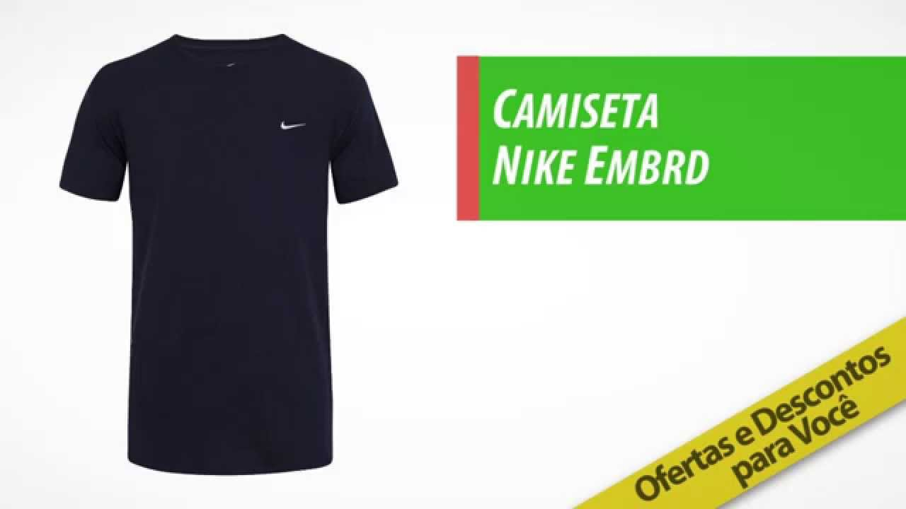 16cd565ff293d Camiseta Nike Embrd