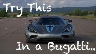Koenigsegg Agera R owns Bugatti Veyron thumbnail