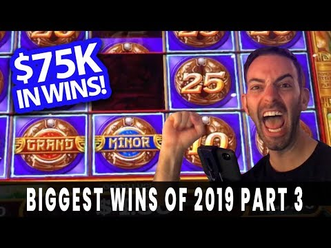 MASSIVE WIN$ from 2019  BIGGEST WINS of the YEAR  Part 3 of 3