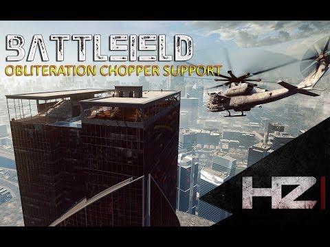 "Battlefield 4 ""Obliteration Chopper Support"""