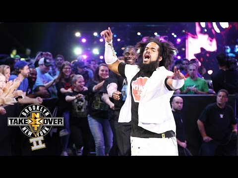 No Way Jose's conga line entrance: NXT TakeOver: Brooklyn II, only on WWE Network