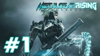 Metal Gear Rising: Revengeance - PART 1 Playthrough PS3 X360 TRUE-HD QUALITY