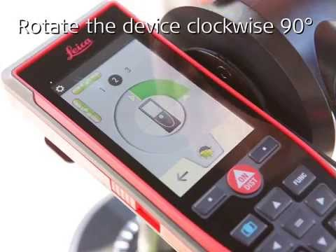 Leica DISTO™ S910 – How to use P2P Function with Smart Level
