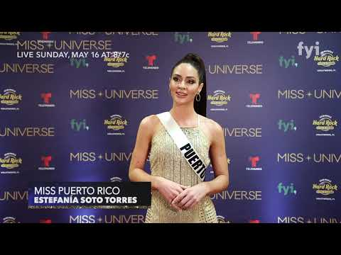 The 69th Miss Universe Competition - Interview with Miss Puerto Rico, Estefanía Soto Torres