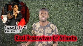 Zapętlaj Real Housewives Of Atlanta | Season 11, EP. 21 |  Reunion pt. 1 | Funky Dineva