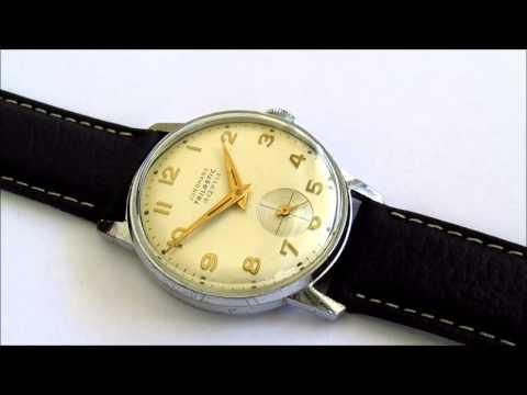 Junghans Trilastic 16 jewels Cal 93s vintage wristwatch
