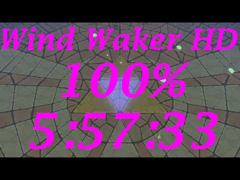 Wind Waker HD 100% Speedrun in 5:57:33[World Record]
