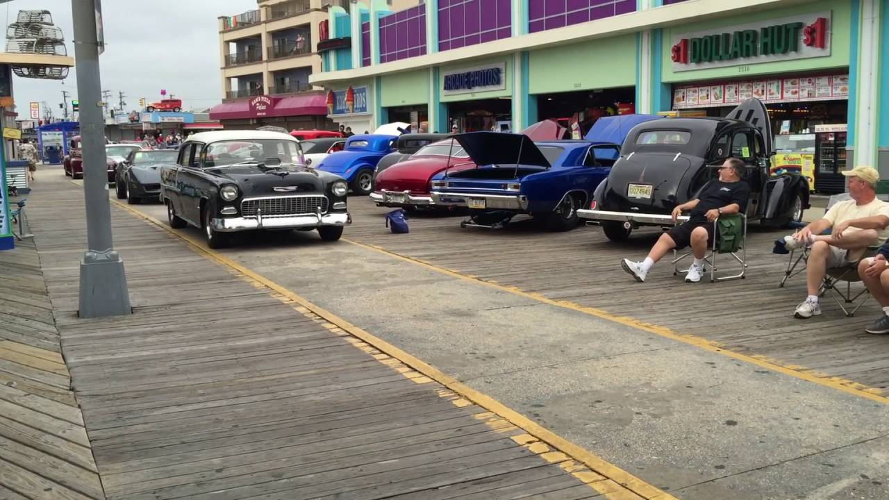 Wildwood Boardwalk Fall Classic Car Show September YouTube - Wildwood car show