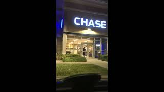 Epic fail stuck inside chase bank