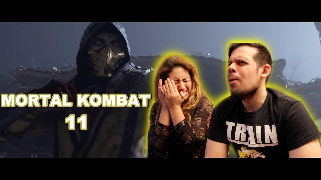 Mortal Kombat 11 – Official Announce Trailer REACTION! - YouTube