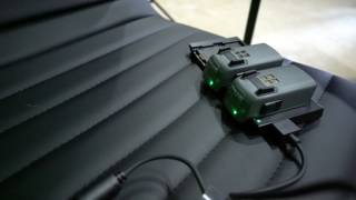 Charging DJI Spark Batteries Demonstration