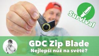 🔪 NEJLEPŠÍ NŮŽ NA SVĚTĚ je ten, který máte stále u sebe!!! (Gerber GDC Zip Blade Review)