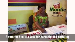 Akua Donkor Speaks on Mahama's Bribes