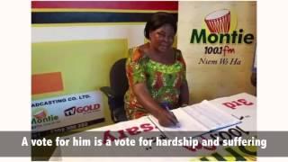 Akua Donkor Speaks on Mahama's Bribes
