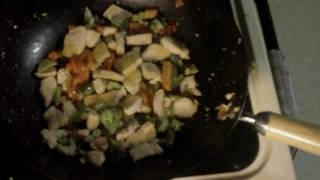 Cooking With Chris - Lemon Pepper Chicken Stirfry With Brown Rice