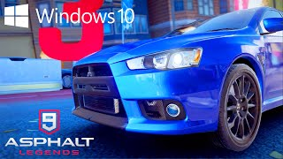 ASPHALT 9 for PC/Windows 10 - First look! (Ultra graphics!! - 60fps!!)