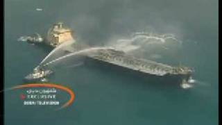 Collision sets off Dubai tanker fire