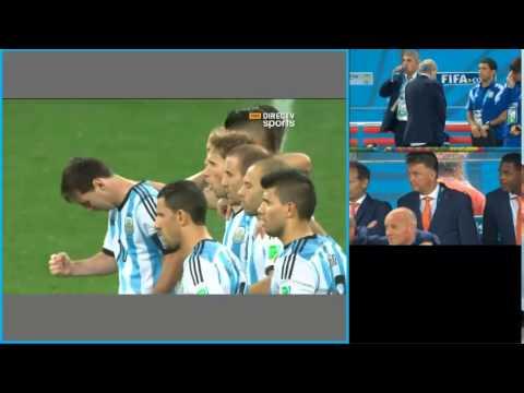 Narradores argentinos lloran en los penales contra Holanda