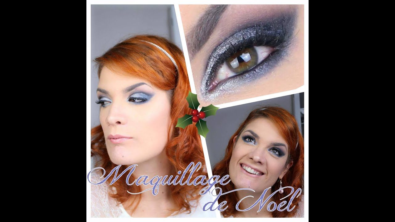 Fabuleux Tuto maquillage yeux n°40 ]Maquillage de Noel 2015 Argent  IG68