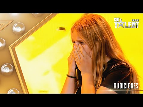 ¡Una estrella! JULIANA sorprendió y se fue con el BOTÓN DE ORO