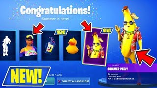NEW! (DAY 3) OF 14 DAYS OF SUMMER IN FORTNITE! + FREE REWARDS LIVE! (USE CODE : itzSQUADTREK)