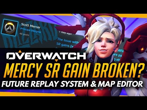 Overwatch | Mercy SR Broken(?) + Replay System and Map Editors For the Future [FORUM NEWS]