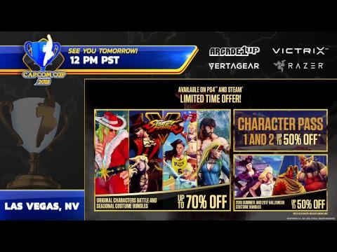 Capcom Cup 2018 - Top 32 - Day 2