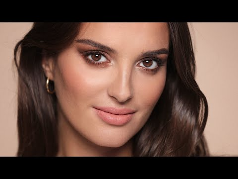 Soft smokey eyes for any occasion with guest Gabrielle Caunesil | ALI ANDREEA