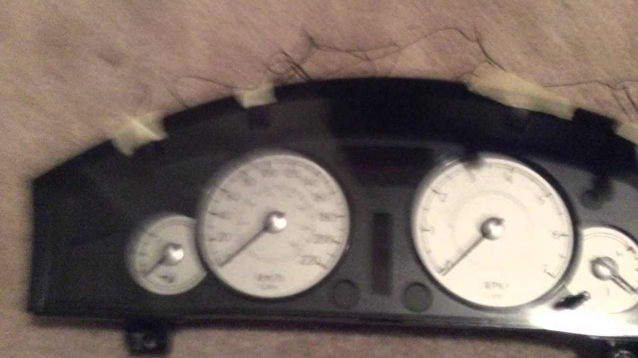 2005 chrysler 300 instrument cluster repair