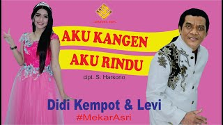 Gambar cover DIDI KEMPOT & LEVY - AKU KANGEN AKU RINDU (AKAR)   - Official Video