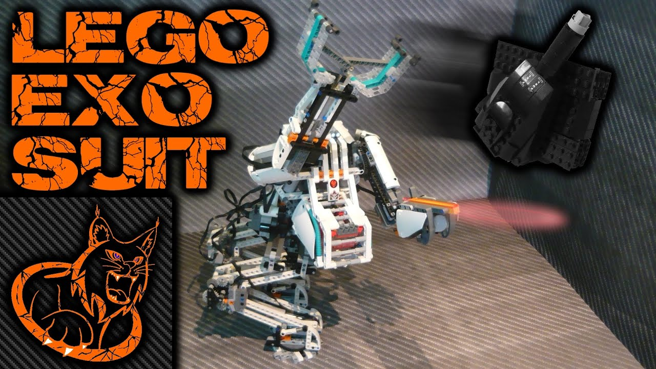 Lego Motorized Exo Suit Mecha Youtube