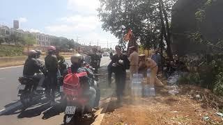 Cảnh sát giao thông huyện thống nhất