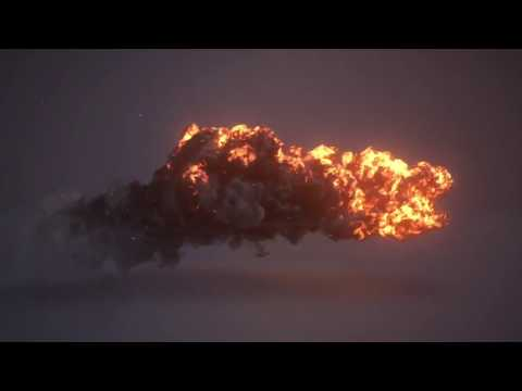Epic Lava Flow Explosions Erupting At Hawaii Volcano National Park