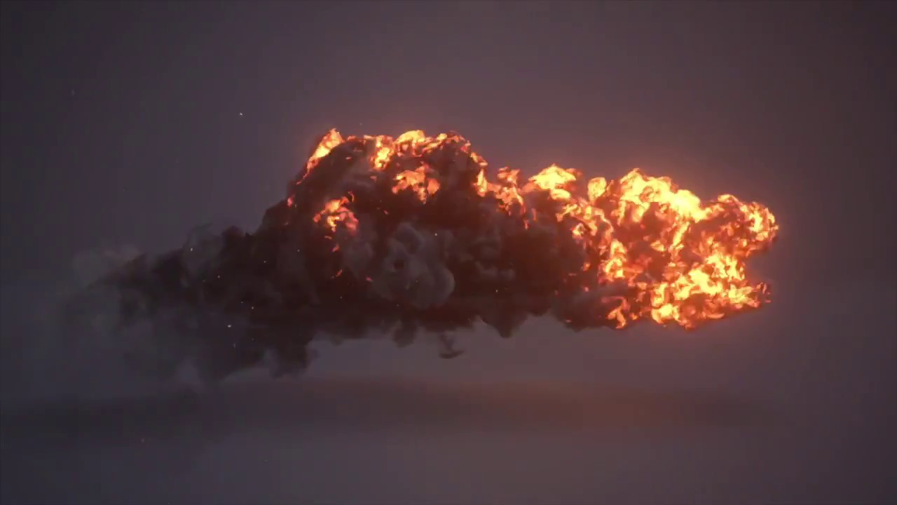 Lava Flow Explosions Erupting At Hawaii Volcano National Park