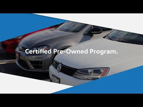 Volkswagen Certified Pre-Owned Programs At Crosby VW